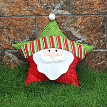 Merry Christmas Sofa Seat Back Cushion Home Decor Pillow Cases Cover+Pillow Core