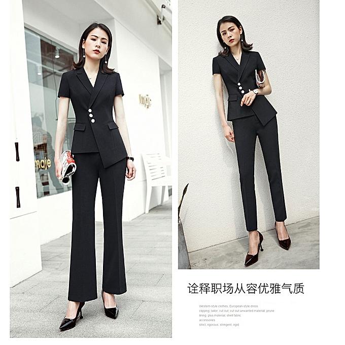 Generic Excellent Suit Jacket Female Blazers Feminino 2019 Ladies