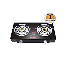 GC-8270GX - Tabletop - 2 Burner - Glass top - Black
