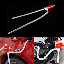 Car Manual Siphon Pump Portable Gas Oil Water Liquid Transfer Sucker-
