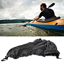 Universal Adjustable Nylon Kayak Spray Skirt Waterproof Cover Water Sports Accessory