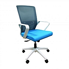 Special Offer! Ergonomic Office Chair with Mesh Back & Fabric Seat - Multicoloured
