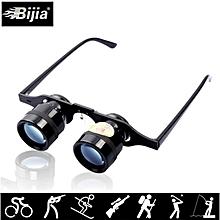BIJIA 10x34 Binoculars 10x Glasses Telescope Super Low Vision Goggles Hiking Glasses for Hunting