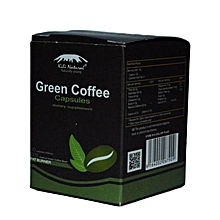 Green Coffee Bean Capsules - 60 Capsules