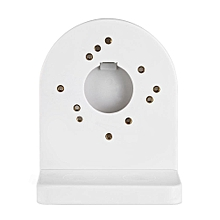 Universal CCTV ABS Plastic Dome Camera Wall Mounting Bracket Stand White