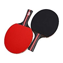 Boliprince Durable Long Handle Hand-Shake Table Tennis Rackets Ping Pong Bat Set With Bag