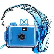 Underwater Waterproof Mini 35mm Film Camera Purple -Blue