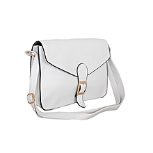 White Shoulder Tote Handbag