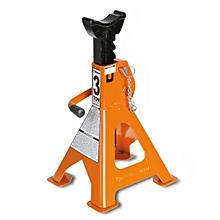 Jack stands, pair  3010/6T - Black & Orange