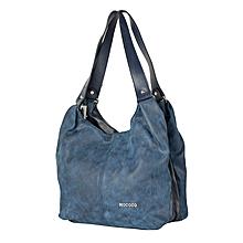 Dark Blue Mococo Hand Bag