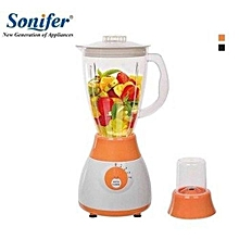 2in1 Blender with Mill & Grinder - Multicoloured