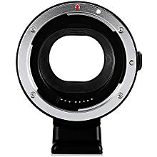 EF - EOS M AF Auto Focus Mount Adapter for  EF-M Camera to EF Lenses-BLACK