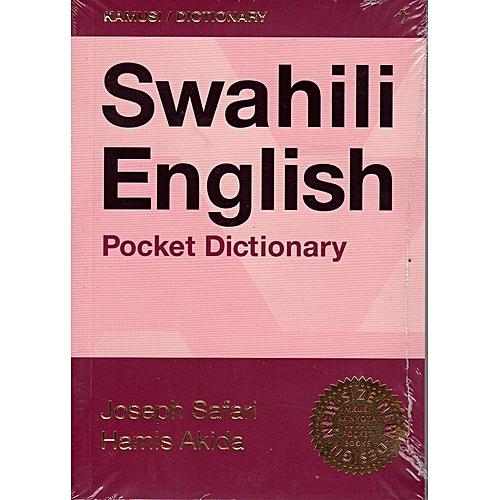 Swahili-English Pocket Dictionary