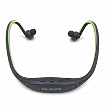 Bluetooth Headset Earphone For Phone Wireless Sweatproof Sports Bluetooth Headphone With Mic Voice Control With Earbud Green