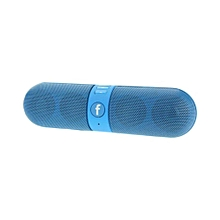 Portable Wireless Bluetooth Speaker With FM Radio Tuner-Blue