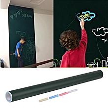 Removable Blackboard Whiteboard Chalkboard Wall Sticker Decal Environment Friendly Teaching Aid