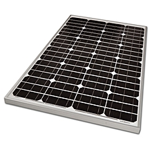 100Watts  12Volts Solar Panels - Black & Silver