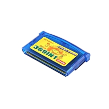 CO 369 In 1 Video Game Card Portable Cartridge For Nintendo GBA-black