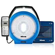 Niwa Multi 100 Plus - LED Solar Powered Lantern - Blue