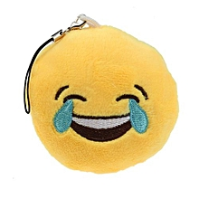 Emoticon Laugh To Tears Key Chain Soft Toy Gift Pendant Bag Accessory