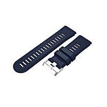 Replacement Silicagel Soft Quick Release Kit Band Strap For Garmin Fenix 5X-Dark Blue