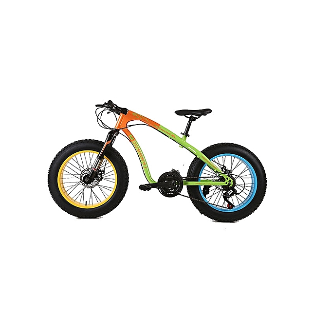 buy ifreedom 20 u0026quot  21 speed orange green fat tire mountain