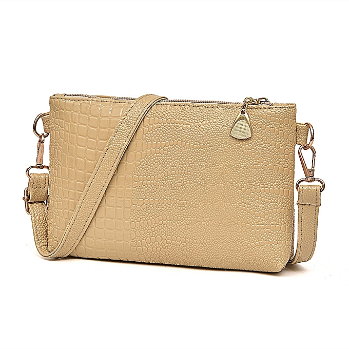 b91bd80bf Women Handbag Crocodile Pattern Shoulder Bag Small Tote Ladies Purse