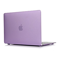 "For 12"" Macbook Case, Matt Hard Rubberized Cover For A1534 Macbook 12 Inch, Purple"