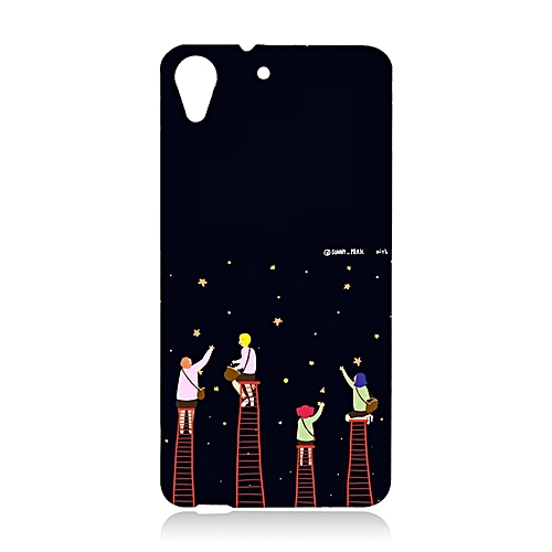 quality design 43ab2 ba3b3 Plastic Hard Cartoon Phone Case for HTC Desire 626 With A Ring