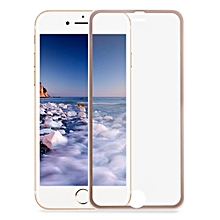 3D Toughened Glass Curved Metal Edge Shatterproof Full Screen Protective Film For IPhone 7 Plus 5.5 Inch