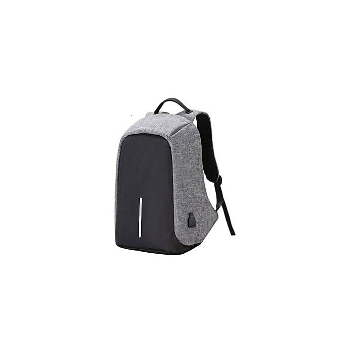 30915f8a153c Men's Backpack Anti-theft Laptop Bag Large Capacity Travel Backpacks -  Black and Grey