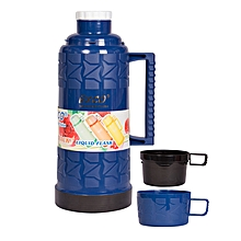 Stylish and Affordable Thermos Flask 1.8Litres - Blue