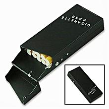 Black Cigarette case and lighter