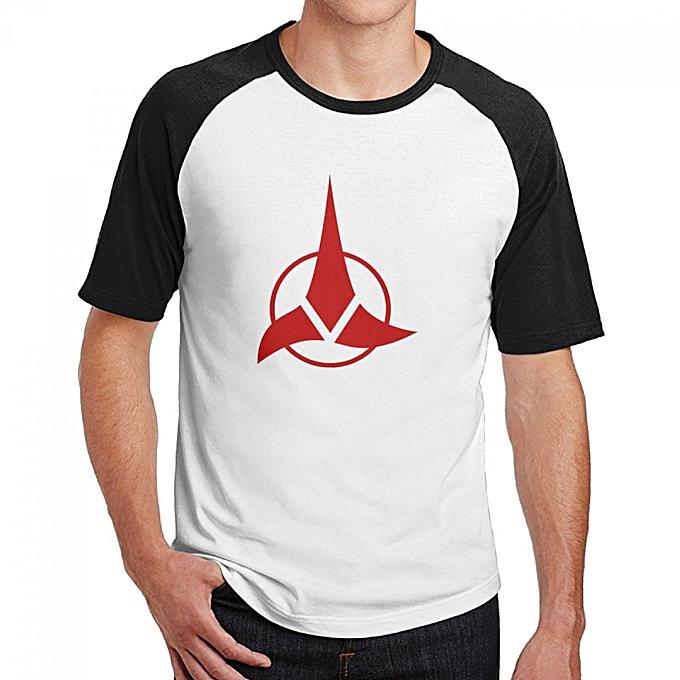 Buy Generic Star Trek Klingons Symbol Mens Cotton Short Baseball