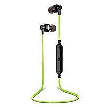 Sport Bluetooth headphone, A990BL Sport Wireless Bluetooth Voice Control Headphones(Green)