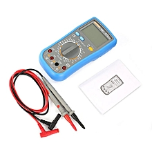 TA HYTALS TS98A 1999 Counts True-RMS Digital Multimeter AC/DC Voltage Ohm Meter Blue& Gray