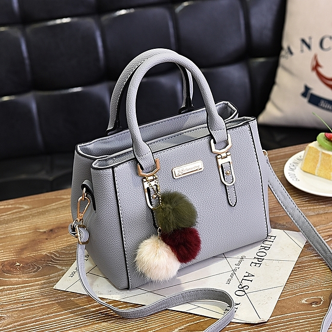 Light Grey Las Bag 2018 New European And American Handbag Fashion Red Wedding