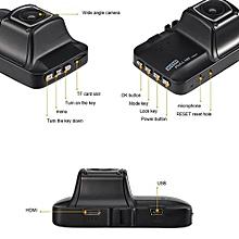 Built-in G-Sensor 170°Wide-angle 3.0LTPS 16:9 LCD Full HD 1080P Tachograph