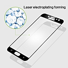 MOFi For Samsung Galaxy J7 Pro Full Screen 2.5D Explosion-proof 9H Surface Hardness Tempered Glass Screen Protector (Gold)