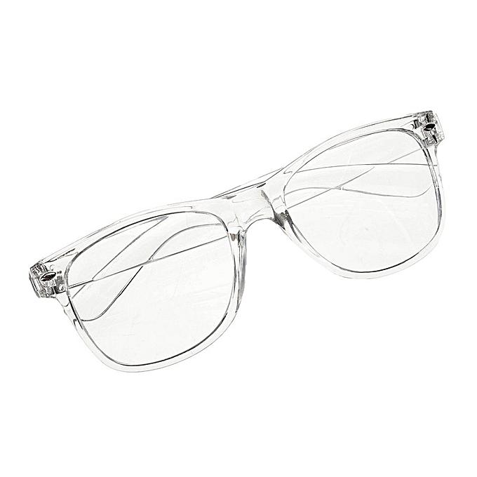02f3230028ef7 Fashion Eyeglass Frame Vintage Transparent Glasses Retro UV 400 Plain Lens  Optic