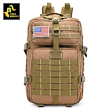 Military Tactical Backpack Assault Pack Army Bag - Brown