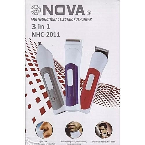 bfa90fbc05 Nova 3 in 1 Electric shaver   Best Price