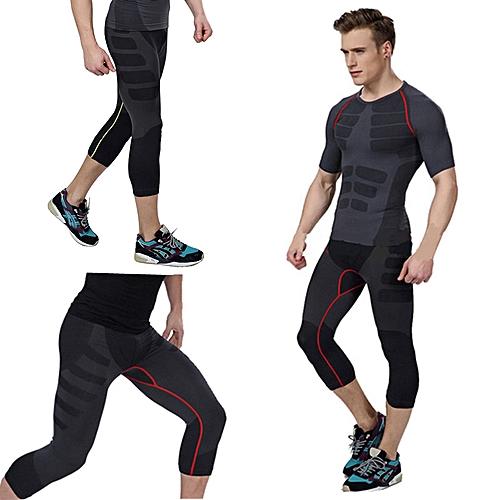 33f0483aa0 UNIVERSAL Freebang Fashion Men's Compression Base Layer Sport Gear Tight Gym  Wear Pants Legging M-XL Green Line