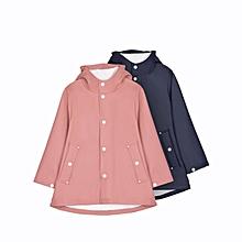 Xiaomi 7th Children Kids Raincoat Waterproof Coat Jacket Cloak Poncho With Reflection Strip
