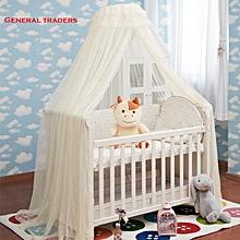 Baby Cot Mosquito Net - White