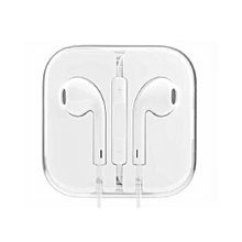 In-Ear Headset for Iphone & Android Devices - White