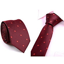 Casual Slim Plain Mens Solid Skinny Neck Party Wedding Tie Necktie