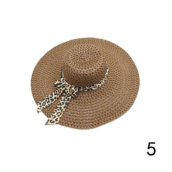 141764d11df78c New Women Beach Hat Lady Derby Cap Wide Brim Floppy Fold Summer Bohemia Sun  Straw Hat