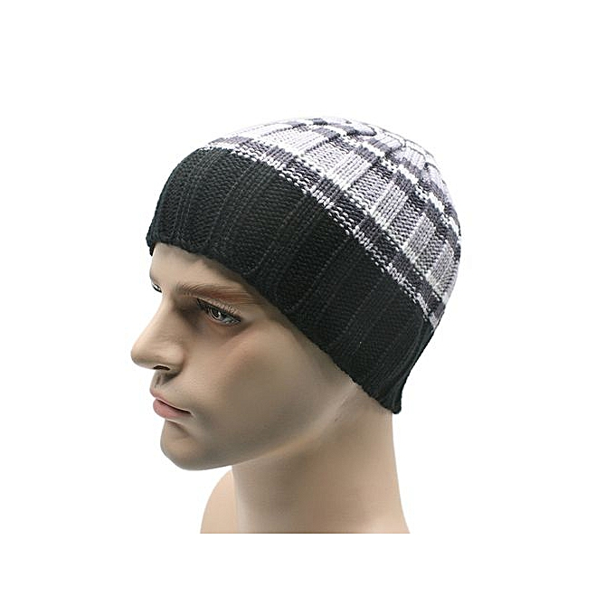 9d42f2e0d6a Zetenis Winter Unisex Women Men Knit Ski Crochet Slouch Hat Cap Beanie  Hip-Hop Hat