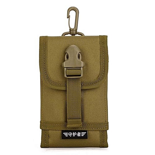 differently 05b21 140f2 Outdoor Hiking Camping Hunting Bags Tactical Molle Cell Phone Case Bag  Nylon Buckle Waist Pouch Pack Outdoor Survival Tools - 1